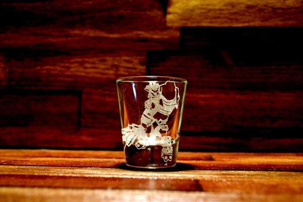 Trundle (League of Legends) Etched Shot Glass
