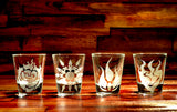 RWBY Shot Glass Set of 4