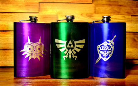 Legend of Zelda Flask 8oz