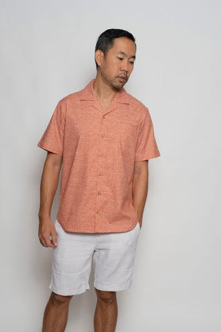 Maru Hawaiian Collar Shirt TAILORMADE