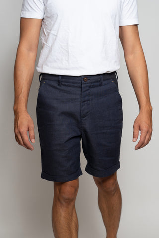 Kanto Summer Linen Shorts
