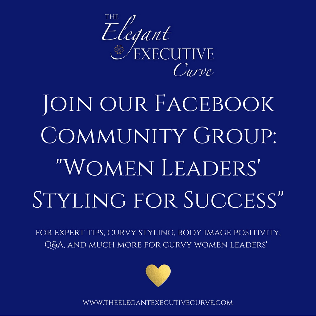 Join our Facebook Community Group for Women Leaders' Styling for Success