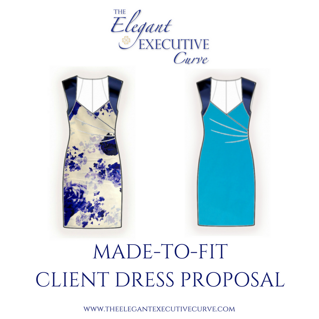 Made-to-Fit Dress Proposal for a Curvy Woman Leader