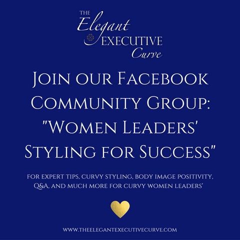 "Join our Facebook Community Group ""Women Leaders' Styling for Success"""
