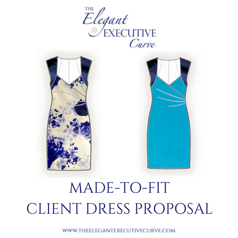 Made-to-Fit Client Dress Proposal