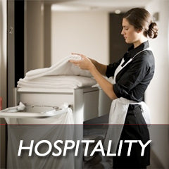 hospitality laundry supplier