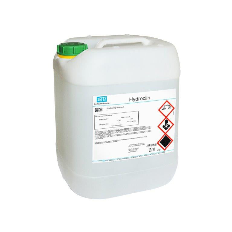 Seitz® Hydroclin - Closed System Hydrocarbon Drycleaning Detergent (20 L Tub) - Elevation Supplies