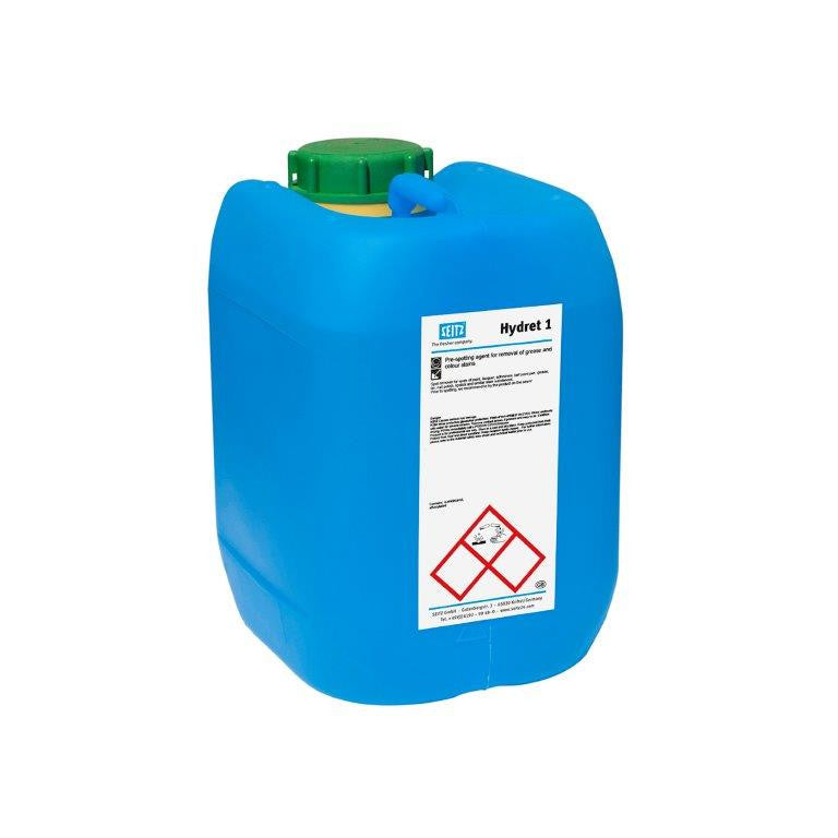 Seitz® Hydret 1 - Super Spotting Agent for Grease and Colour Stains (5 L Pail) - Elevation Supplies
