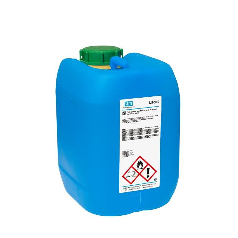 Seitz® Lacol - Post-Spotting Agent for Lacquer and Colour Stains (5 L Pail) - Elevation Supplies