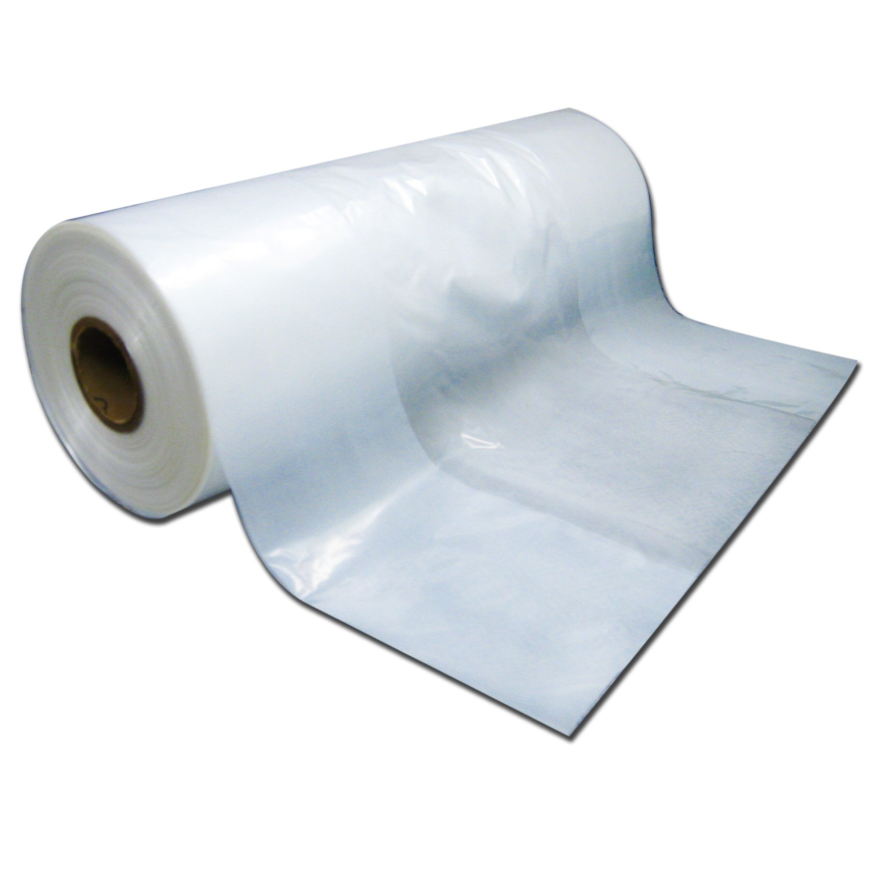 "Continuous Heat Seal Garment Poly for Automatic Bagger 21"" 30 lbs - Elevation Supplies"