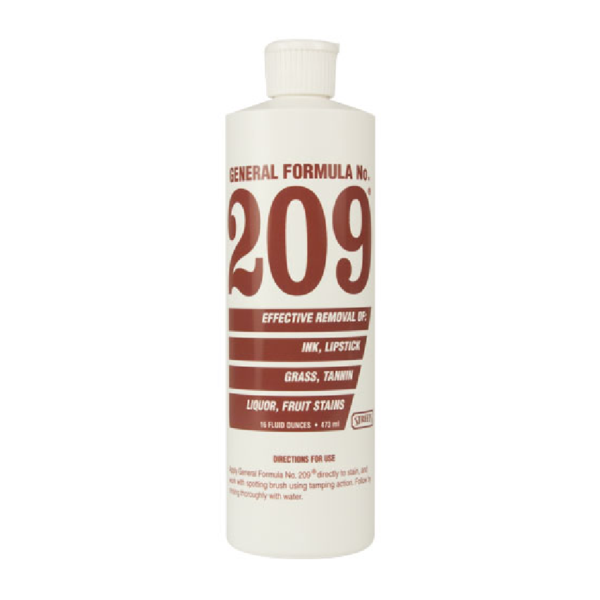Street's® General Formula No. 209 - Tannin Spotter (16 oz Bottle) - Elevation Supplies