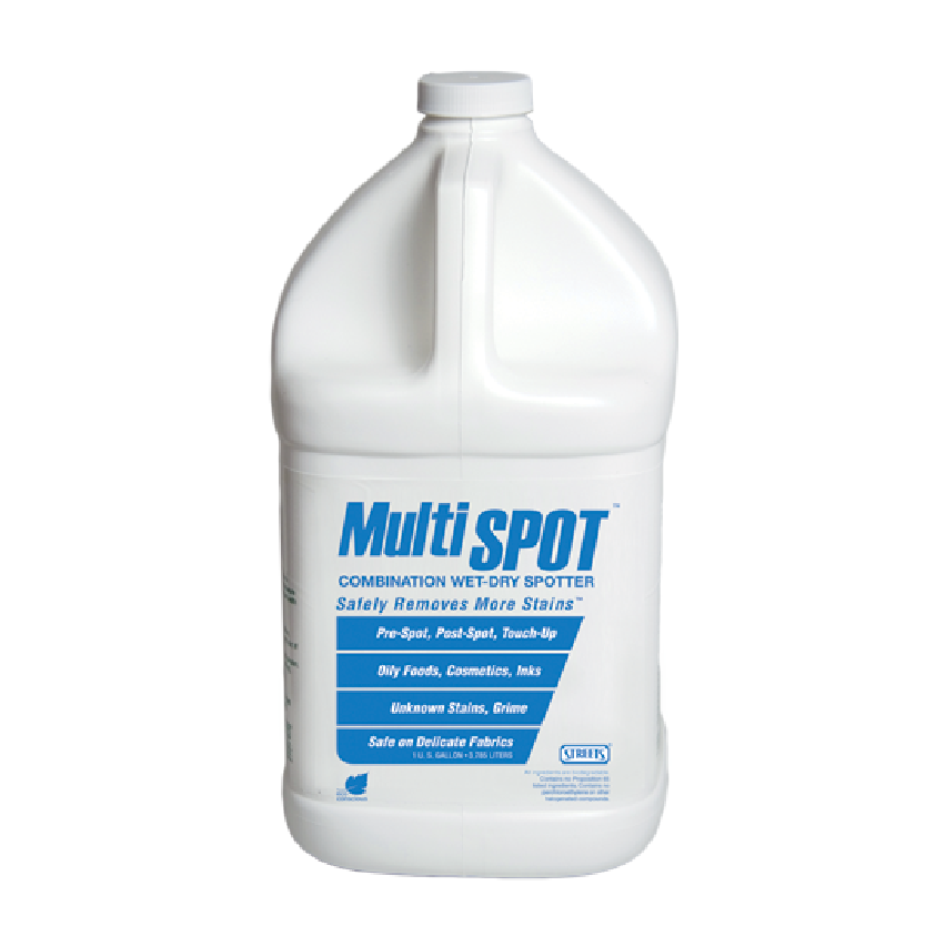 Street's® MultiSPOT - No-Flush Pre-Treatment, Leveling Agent, & Cleaning Booster for Perchloroethylene Systems (1 Gal Jug) - Elevation Supplies