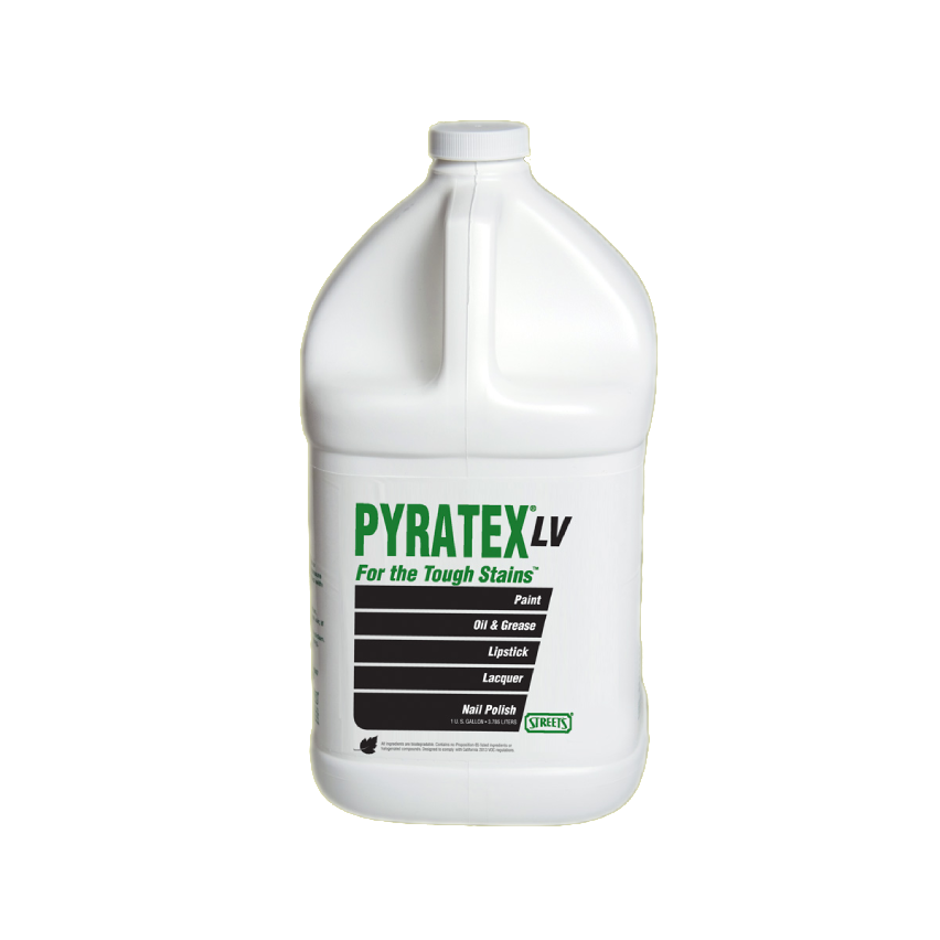 Street's® PYRATEX LV - Oily-Type Dry-Side Stain Remover (1 Gal Jug) - Elevation Supplies