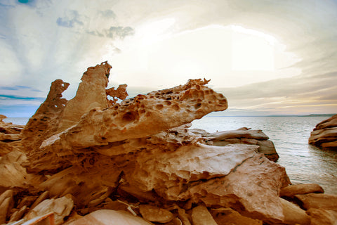 Kimberley photographs 7 of Coastal rock formations