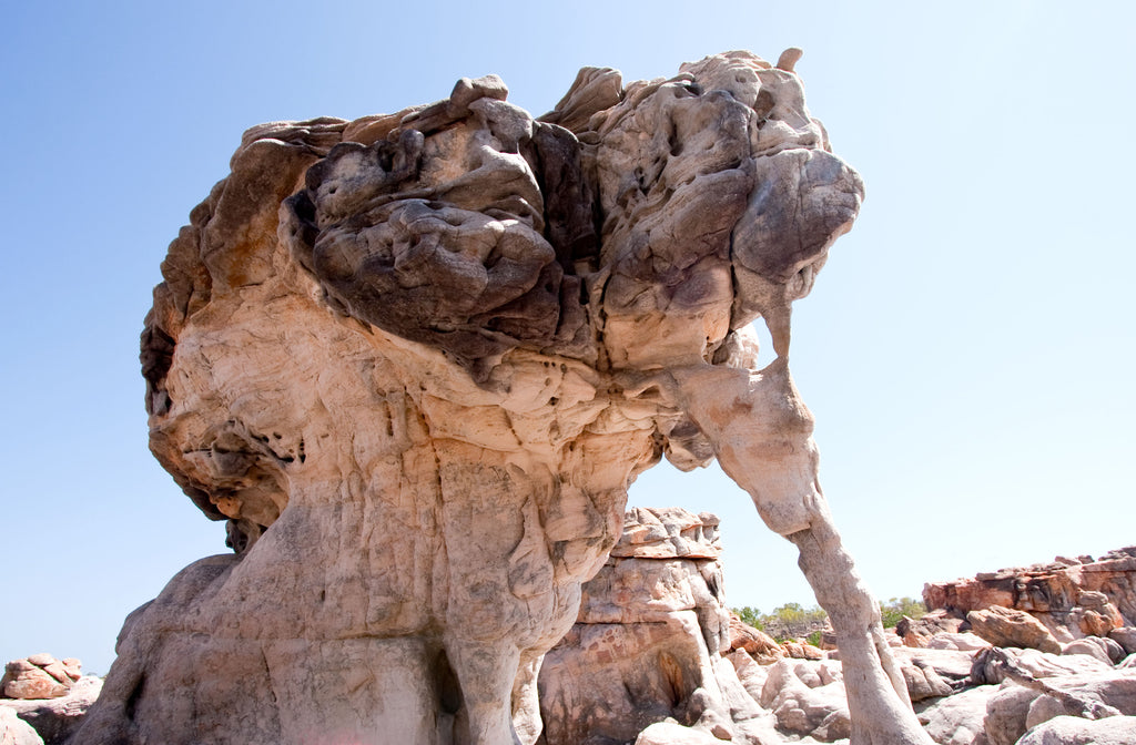 Kimberley photographs 11 of Coastal rock formations