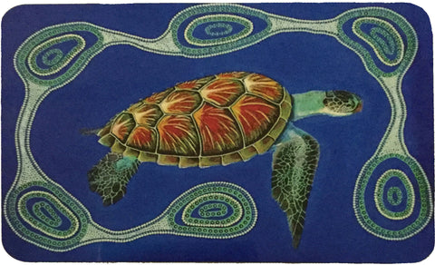 "Des ""junior"" Darby Turtle Placemat"