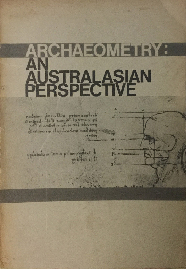 Archaeometry: An Australian Perspective