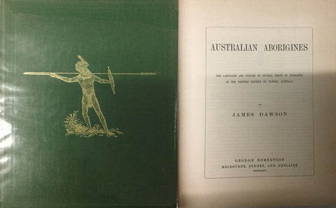 Australian Aborigines by James Dawson