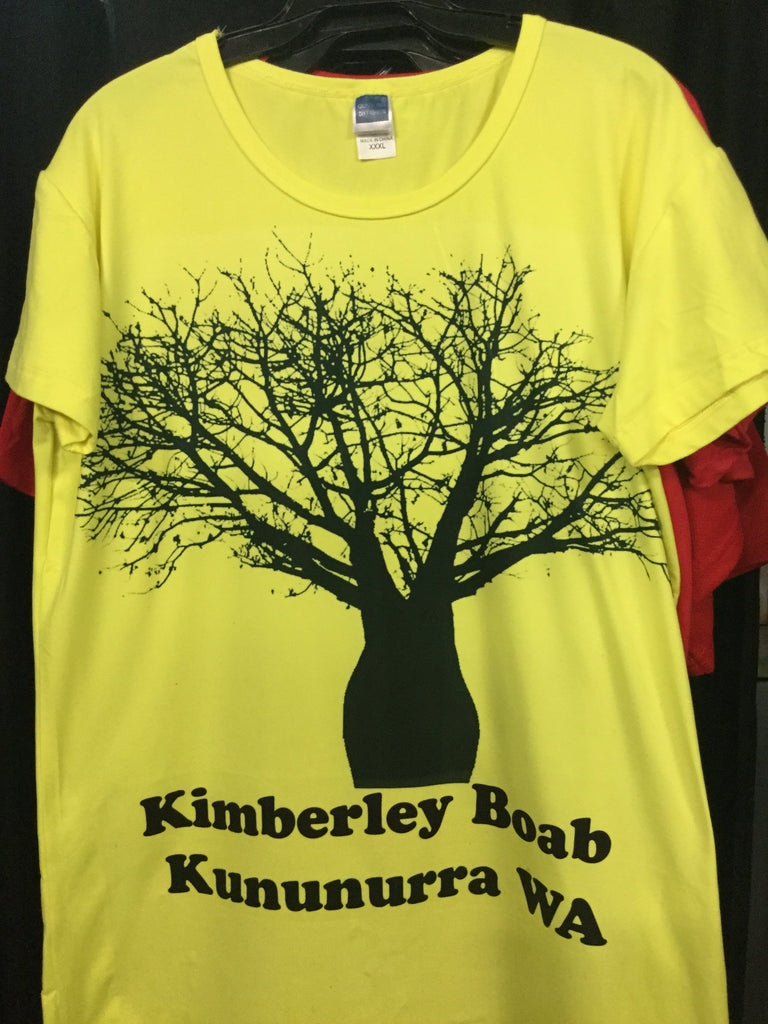 Kimberley Boab Tree design T-Shirts