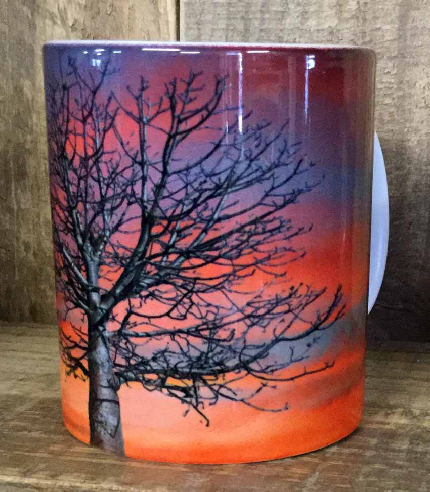 Boab Sunset coffee mug