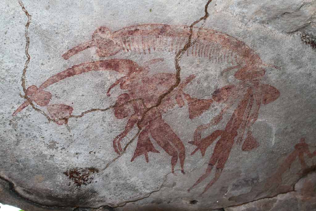 Bradshaw Rock Art images by Dean Goodgame 5