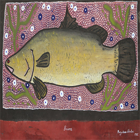 Pot Holder. Barramundi by Maryanne Winton