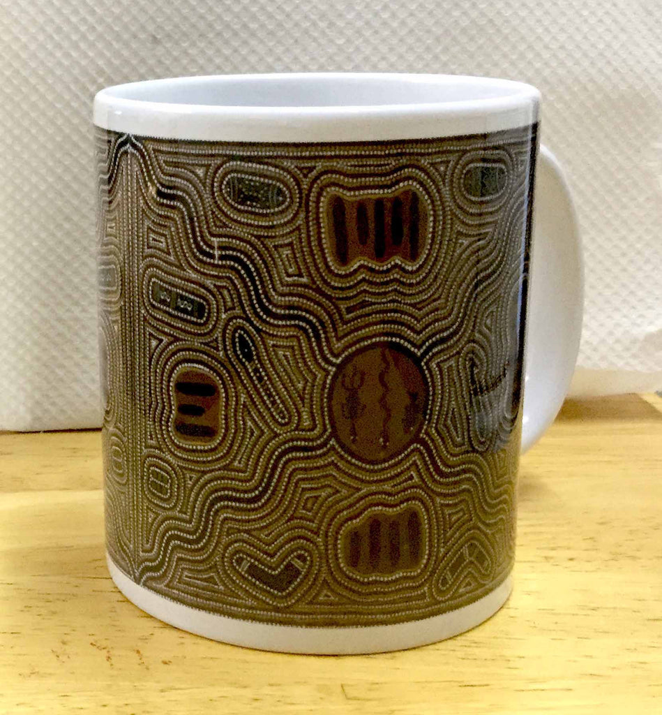 JuJu Wilson Meeting Place coffee mug