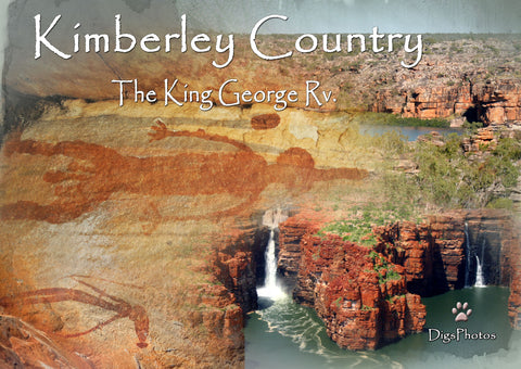 Kimberley Country 'King George River' by DigPhotos