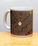 JuJu Wilson Ngubin (water hole) coffee mug