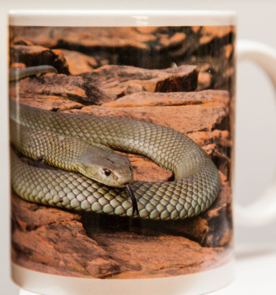 King Brown coffee mug