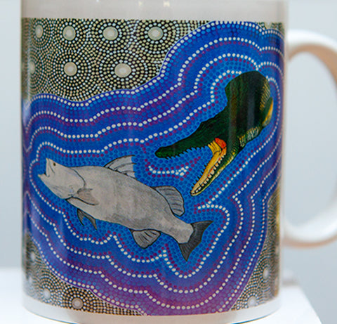 "Des ""junior"" Darby Barramundi mug"