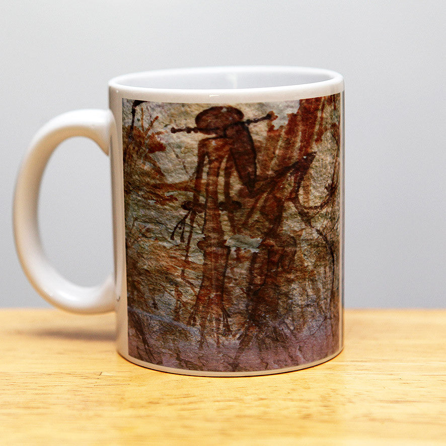 Abstract Bradshaw figure coffee mug