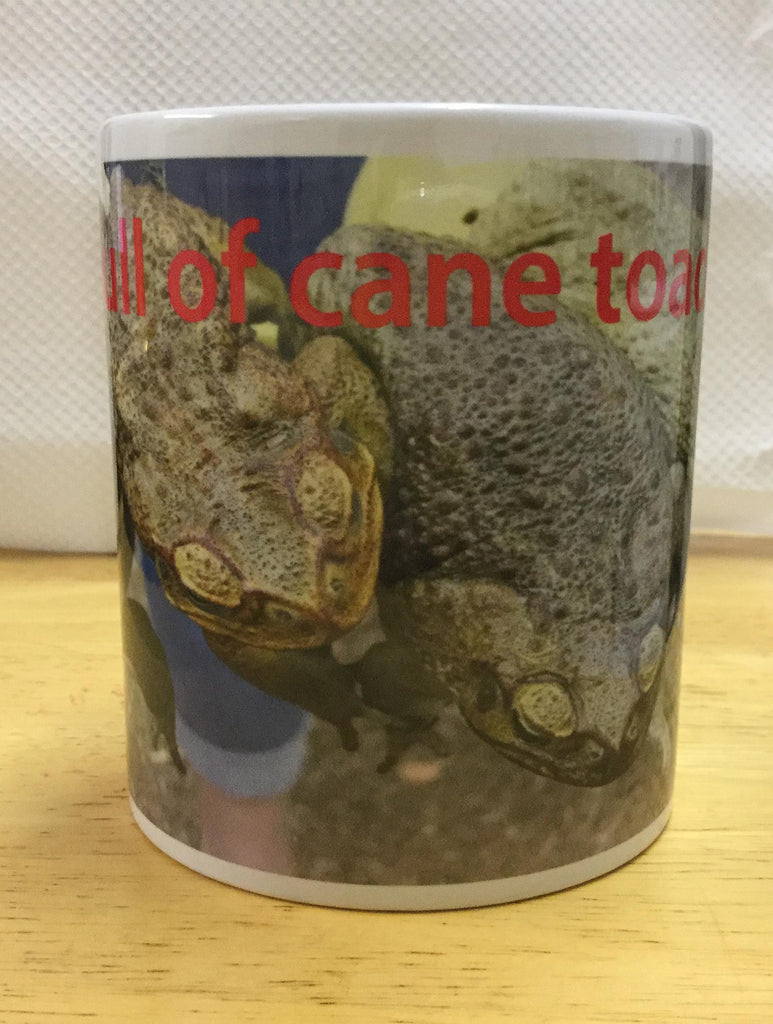 Fist Full of Toads coffee mug