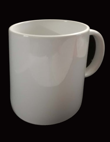 Design your own 11 oz ceramic Mug. Print your own image.