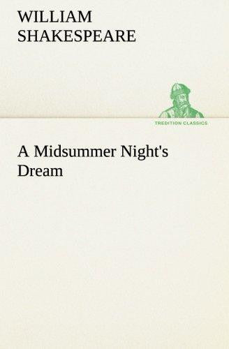 A Midsummer Night's Dream (tredition Classics) by William Shakespeare