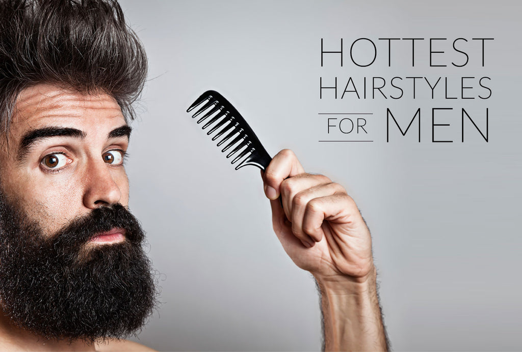 Five hottest hairstyles for men