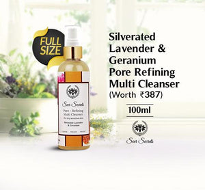 Silverated Lavender & Geranium Pore Refining Multi Cleanser 100ml