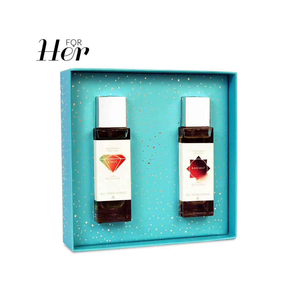 Fragrance - Fruity & Amber Duo Set
