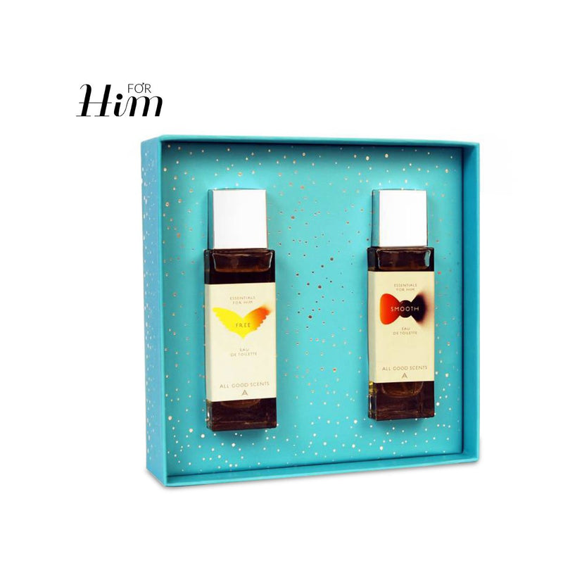 Gift Set - Citrus & Woody Duo Set