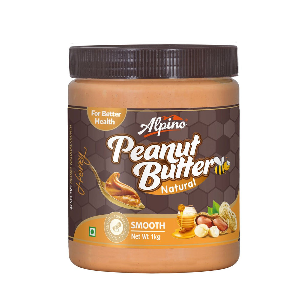 Natural Honey Peanut Butter Smooth