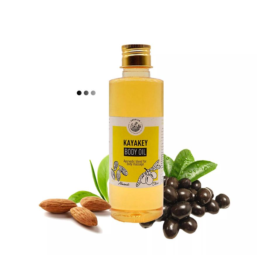 Kayakey Body Oil- Ayurvedic blend for body massage