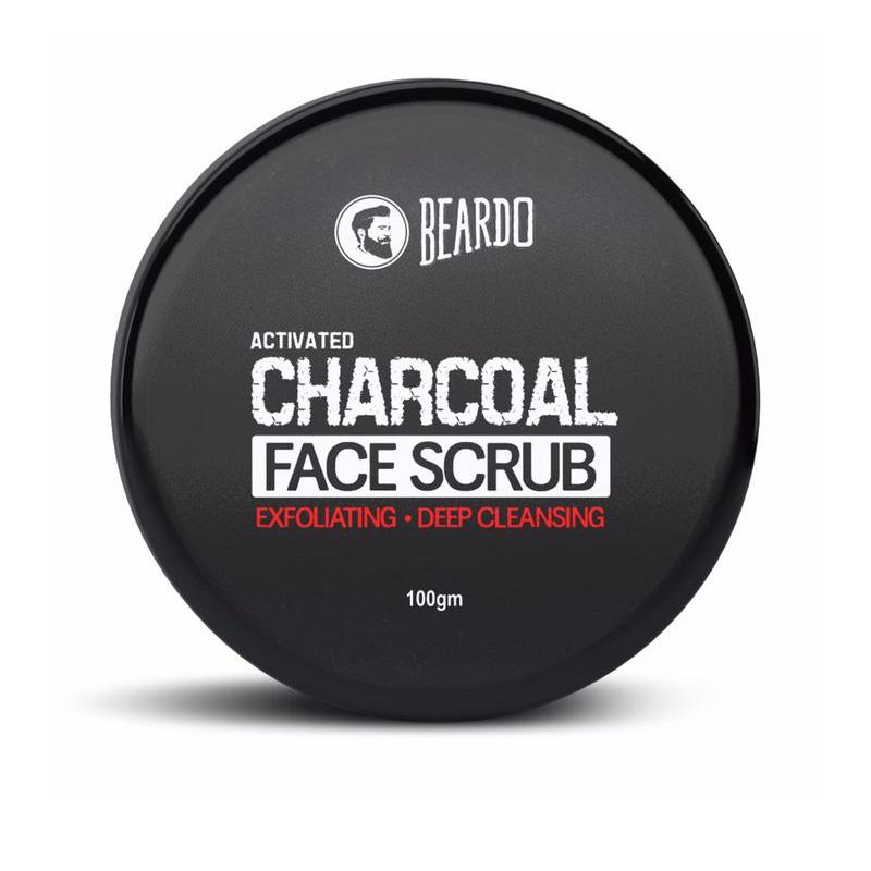 Activated Charcoal Facescrub