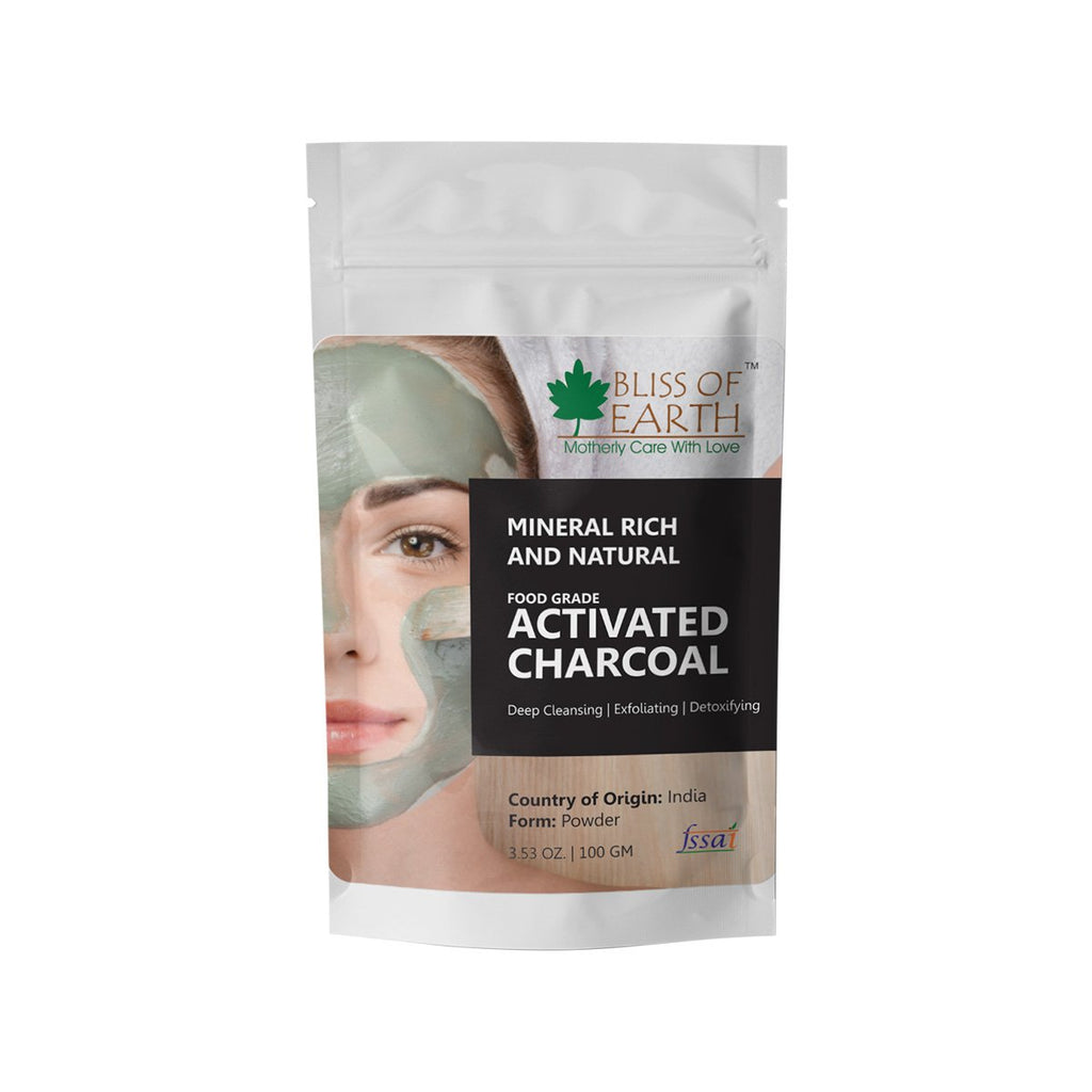 100% Natural Activated Charcoal