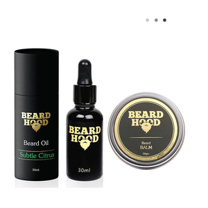 Subtle Citrus Beard Oil & Beard Balm