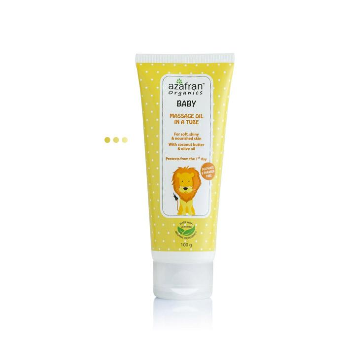 Baby Massage Oil in a Tube