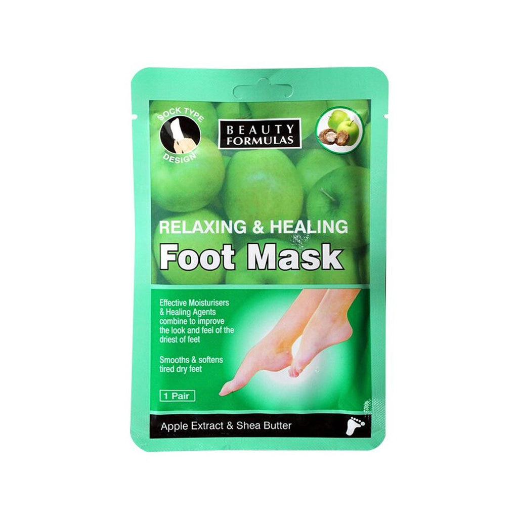 Relaxing & Healing Foot Mask Apple Extract & Shea Butter