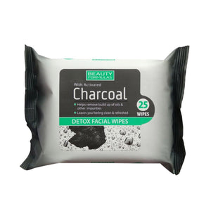 Activated Charcoal Detox Facial Wipes