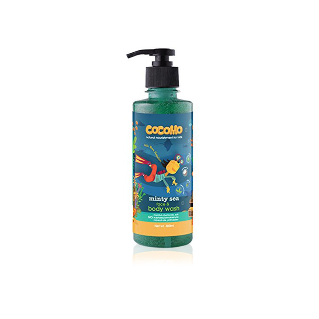 Face & Body Wash for Kids - Minty Sea