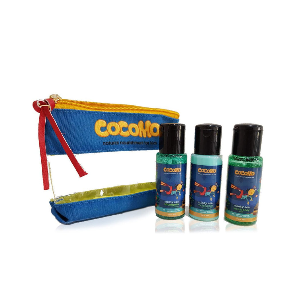 Minty Sea Gift Combo Travel Pack for Kids