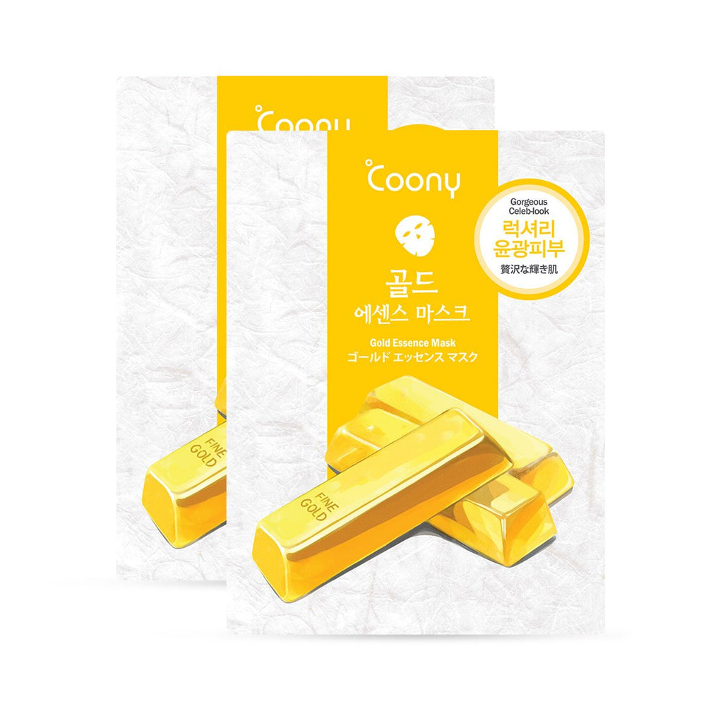 Gold Essence Mask - Pack of 2